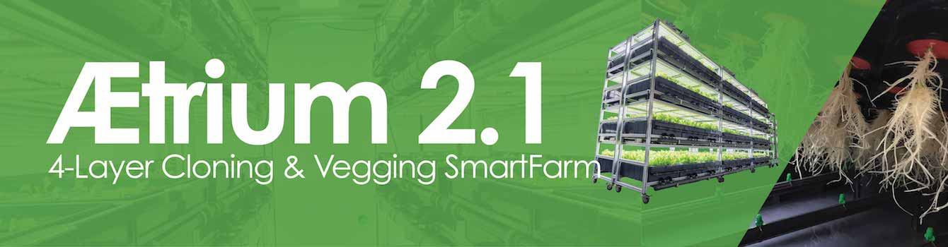 Cultivation AEtrium-2.1 4-Layer Cloning & Vegging SmartFarm