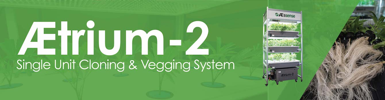 Cultivation AEtrium-2 Single Unit Clongin & Vegging System