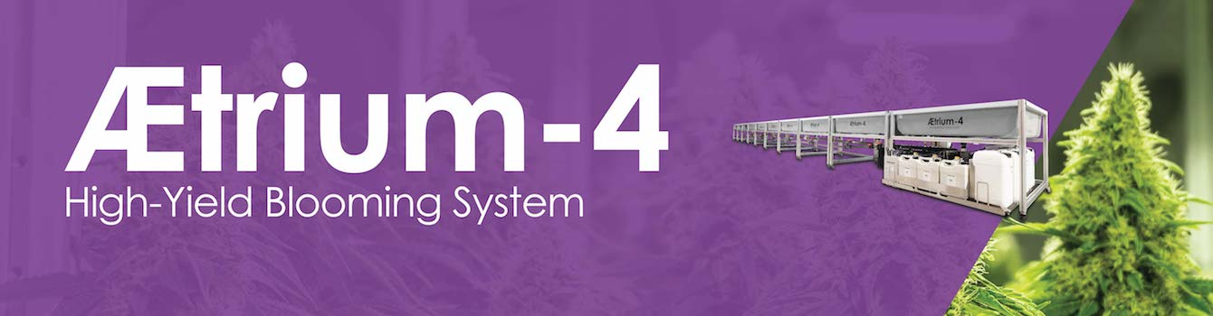Cultivation AEtrium-4 Hydroponic Bloom System
