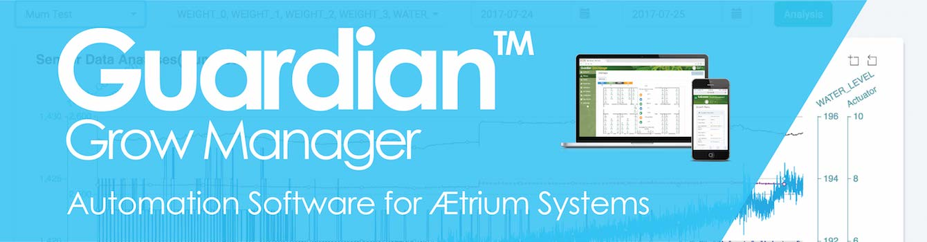 Guardian Grow Manager Automation Software