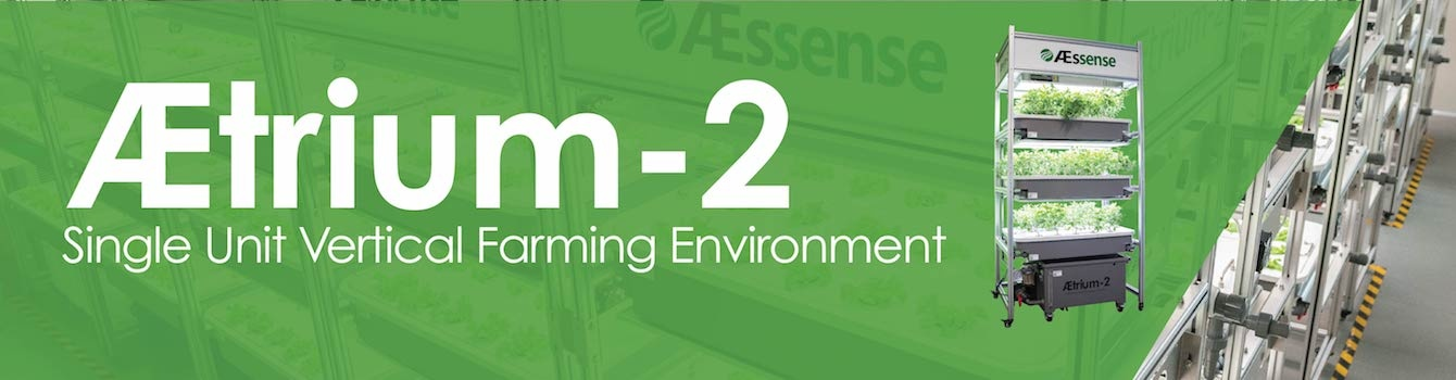 AEtrium-2 Single Unit Vertical Farming Environment
