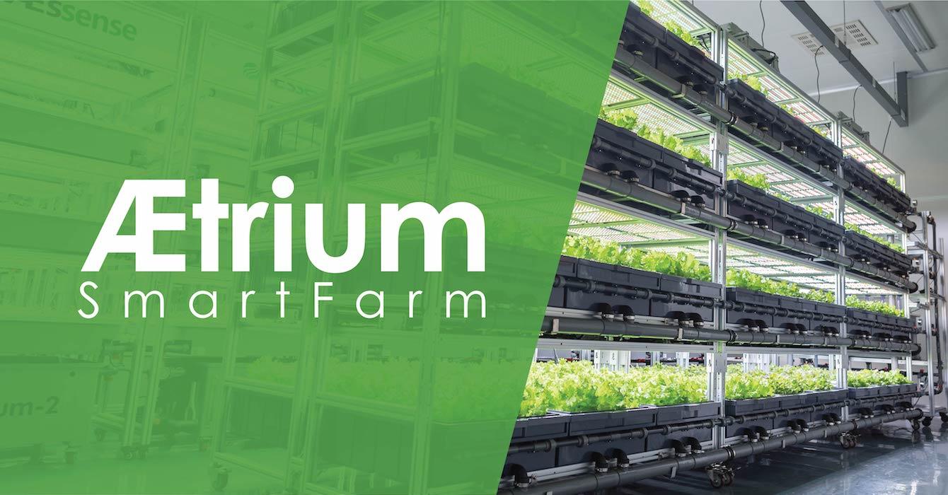 AEtrium-SmartFarm Vertical Stacked Hydroponics