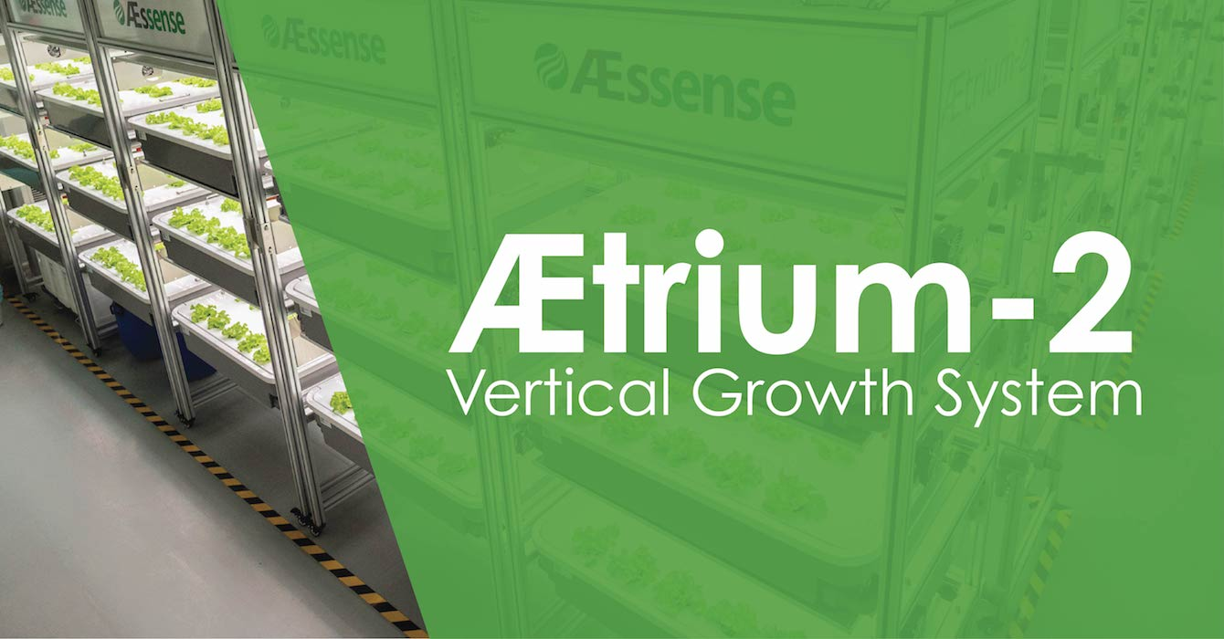AEtrium-2 Vertical Farming Multilevel Stacked Growth Environment