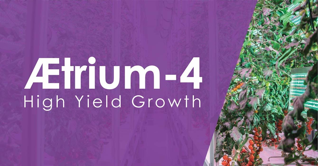 AEtrium-4 Tall Plant Commercial Hydroponic SmartFarm
