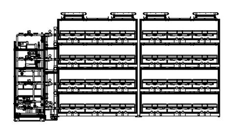 AEtrium SmartFarm Cargo Container Side View