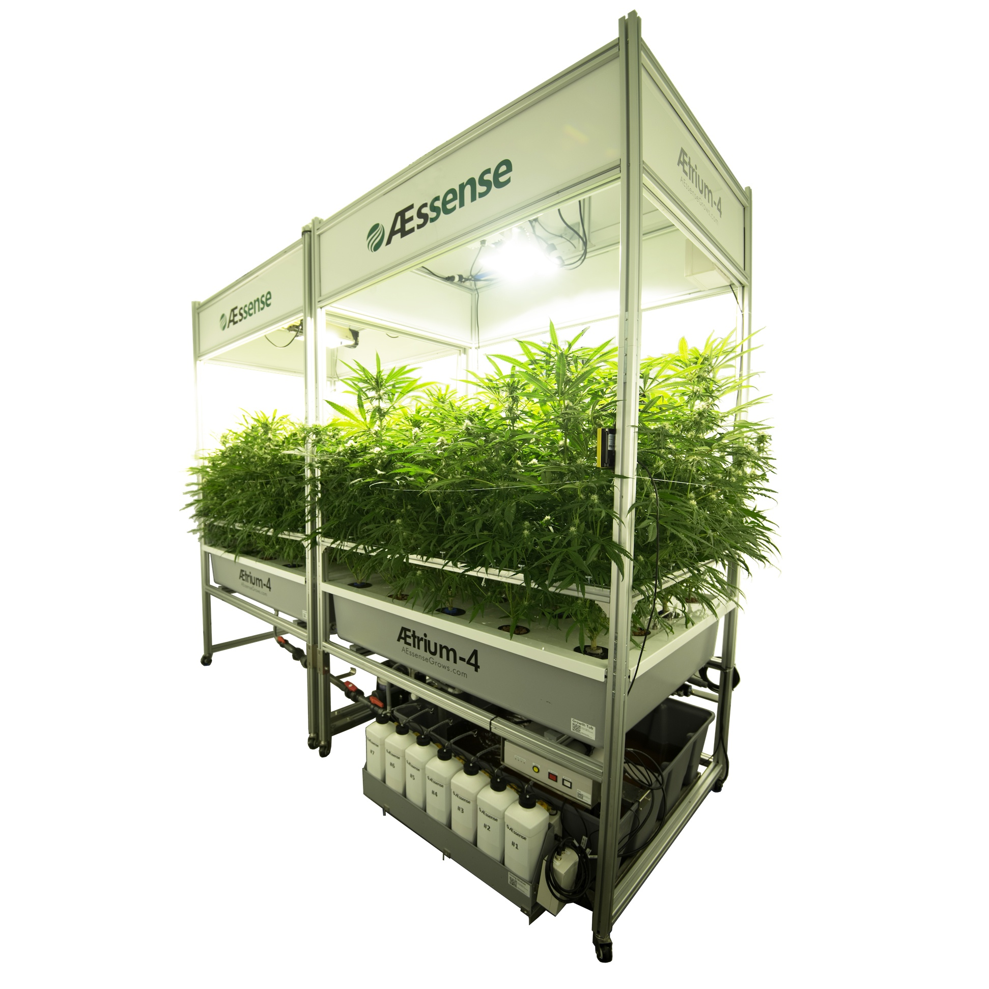 AEtrium-4 Automated Cultivation Bloom System
