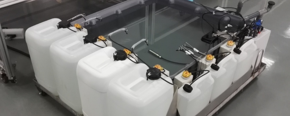 Dynamic Dosing for 10-Tub Fertigation