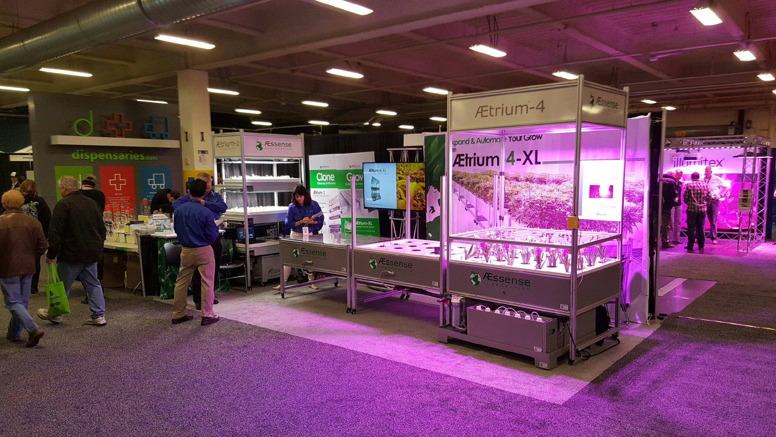 AEssense Exhibits at CannaCon 2016 in Seattle