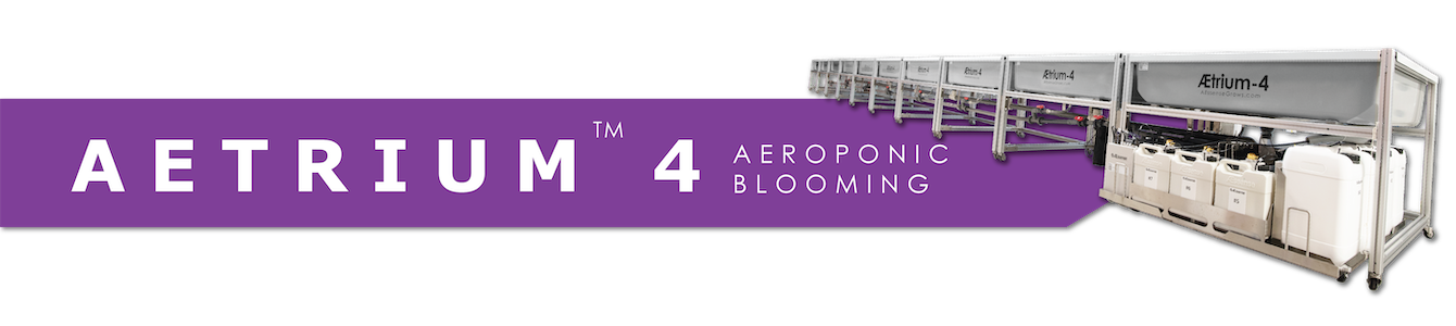 AEtrium-4 Aeroponic Growing System for Flower Blooms