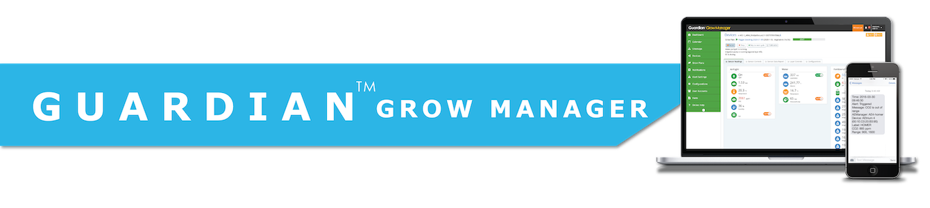 Guardian Grow Manager Automtion Software